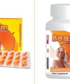 Dược Mỹ Phẩm Beasun - Viên uống chống nắng toàn thân