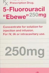 Thuốc 5 Fluorouracil 'Ebewe'