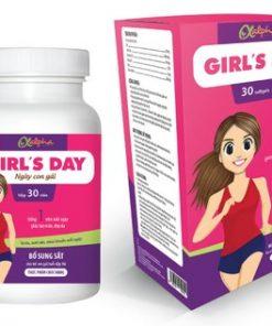 Thực phẩm chức năng GIRL'S DAY - Bổ sung sắt cho bạn gái tuổi dậy thì