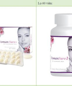 Dược Mỹ Phẩm WomanSure 1 - Viên uống trắng da toàn thân