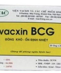 Vắc-xin Vắc xin phòng lao BCG